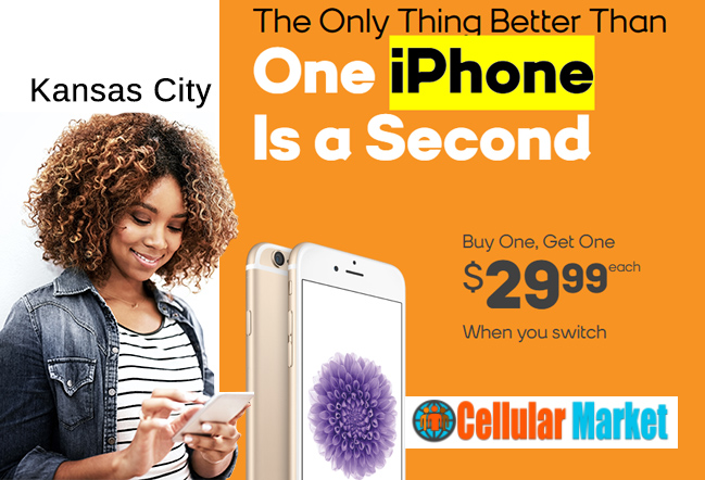 iPhone *Buy One, Get One $29.99 each *When you switch