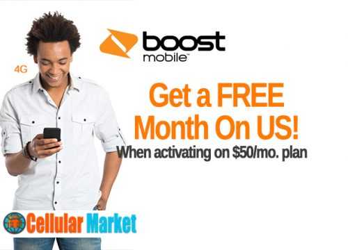 Get a FREE Month On US!  Boost Mobile Kansas City